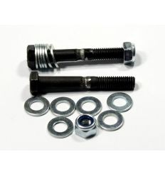 Hobbed Bolt 8mm Black