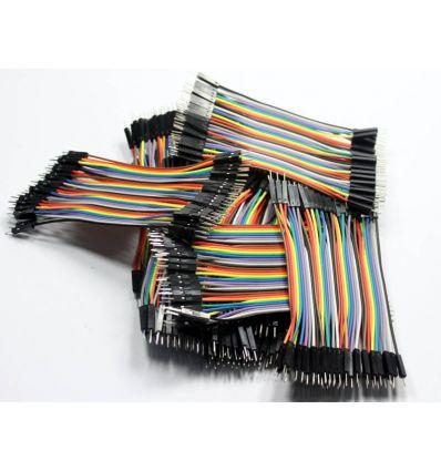 impresoras3Dlowcost Cable dupont macho-macho 10cm