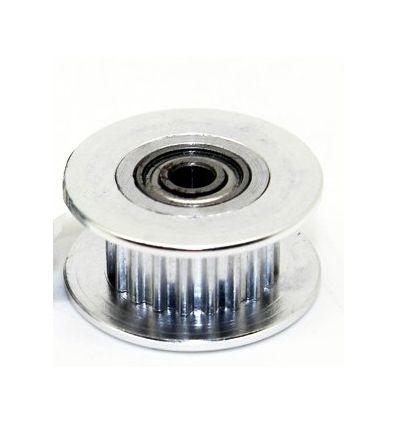 Polea 20dientes 3mm con rodamiento