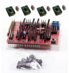 Kit CNC Shield V3 + 4 Drivers A4988