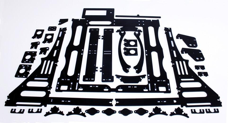 Estructura en acero 3mm lacado al horno incluida