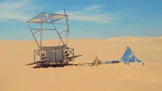 impresora 3d desierto