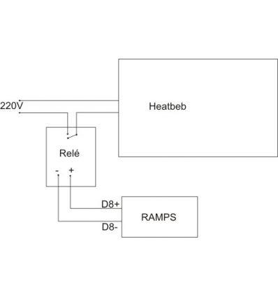 Heatbed silicona redonda12cm 220V