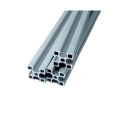 Perfil Aluminio 20x20mm