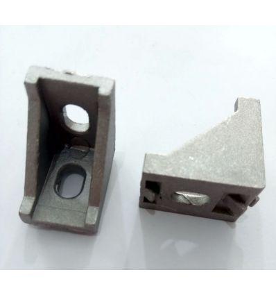 Escuadra para perfil Aluminio 20x20mm