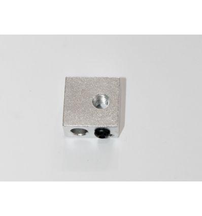Bloque calefactor aluminio impresoras3dlowcost