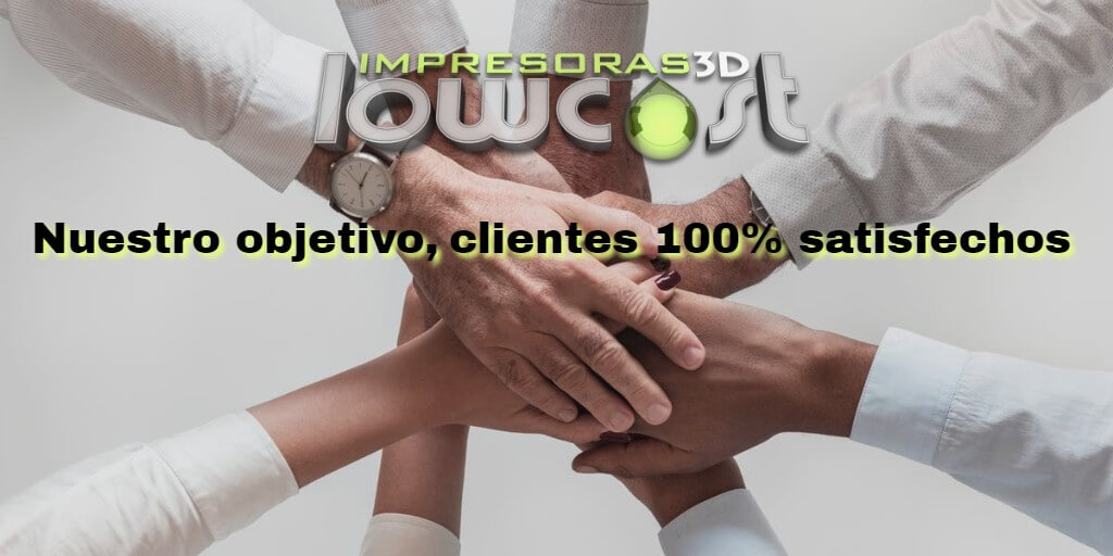 Nuestro objetivo, clientes 100% satisfechos